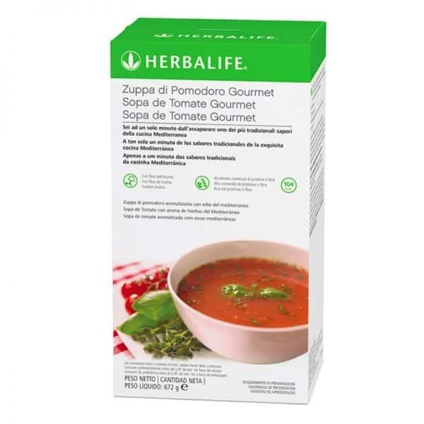 sopa de tomate de herbalife