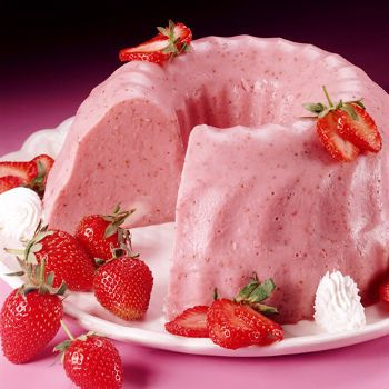 receta de gelatina de sabores de Herbalife