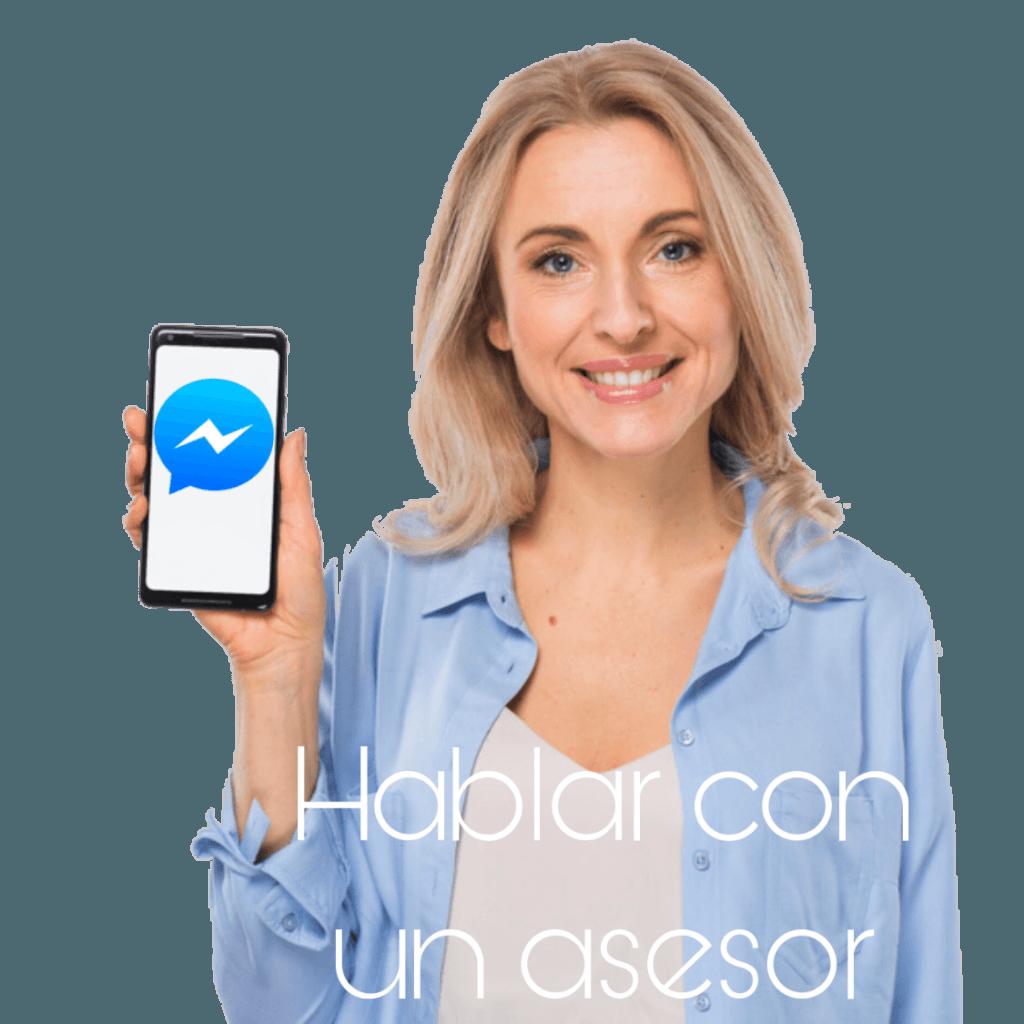 messenger enviar mensaje mas información