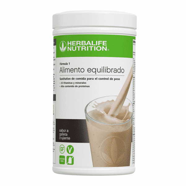 cookies and cream galleta crujiente batido herbalife