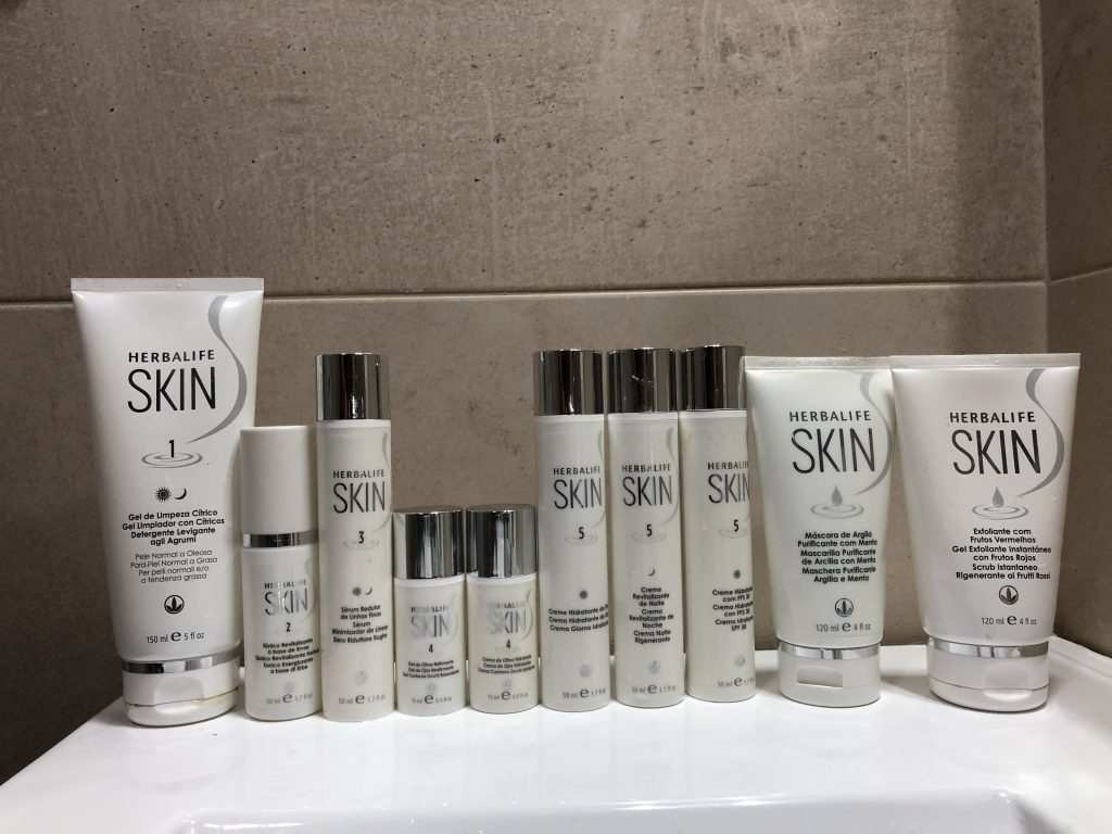 herbalife skin cremas anti arrugas manchas acne