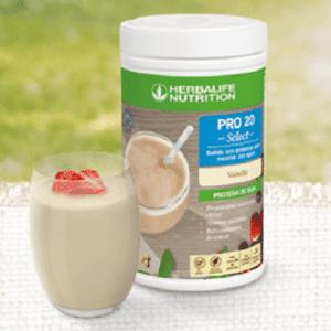 bebida de proteinas de herbalife
