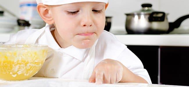 recetas para cocinar con niños
