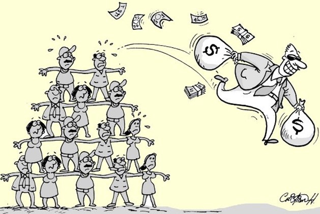 piramide estafador ponzi