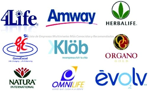 amway oriflame herbalife omnilife fuxion avon