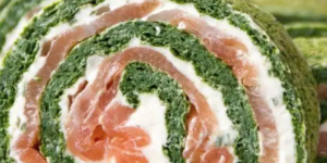 rollito espinacas salmon