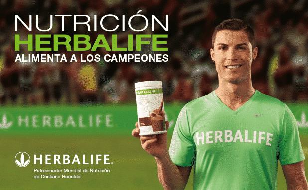 Herbalife y Cristiano Ronaldo_