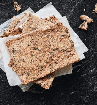 pan crijiente cracker avena pipas herbalife